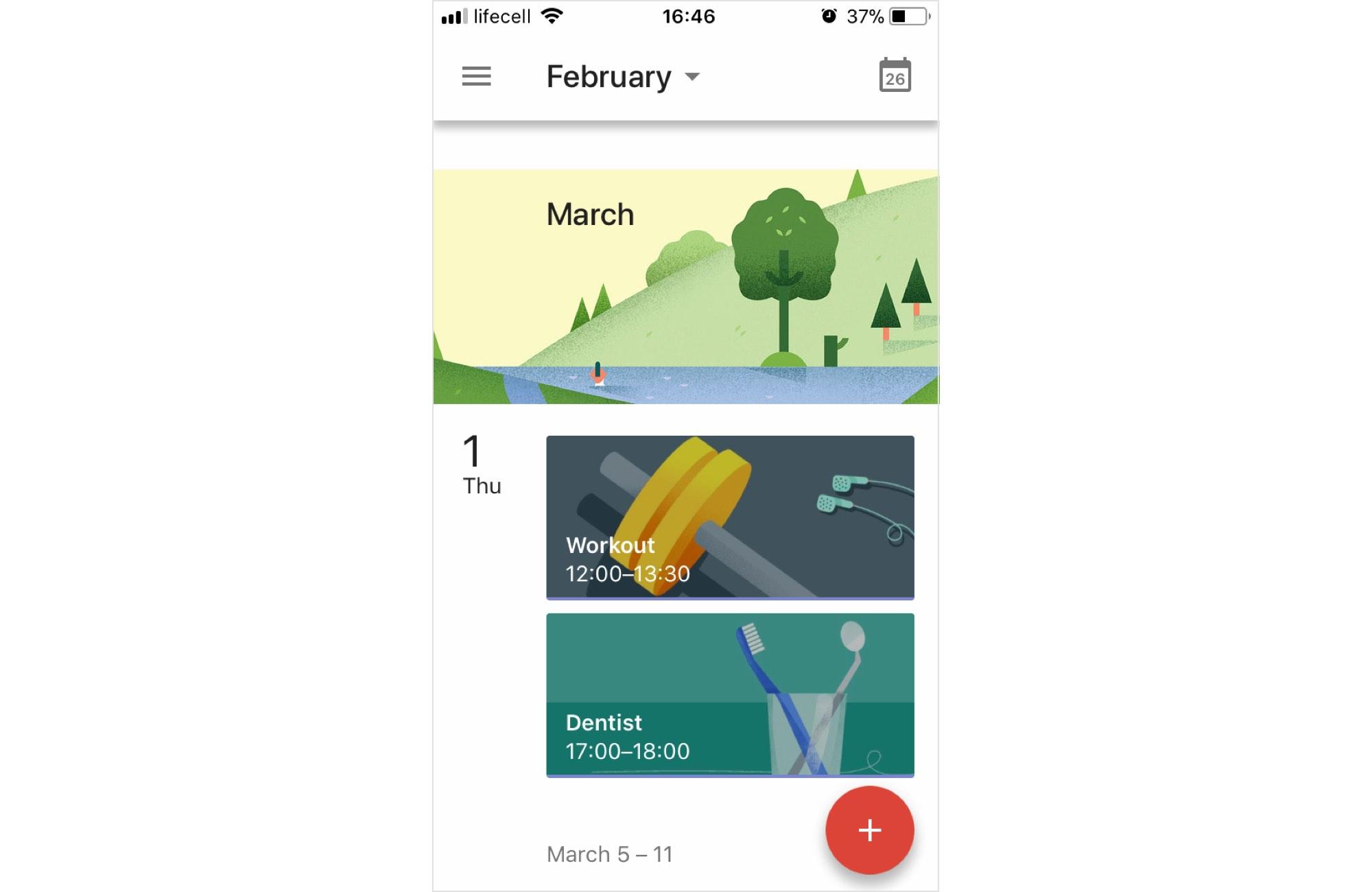 Google Calendar Illustration Keywords : How to design emotional interfaces for boring apps