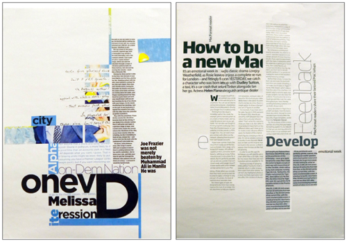 the creative way to maximize design ideas with type \u2014 smashing magazineLayout Design Ideas #18