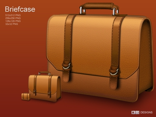 Free Icon Sets - Briefcase
