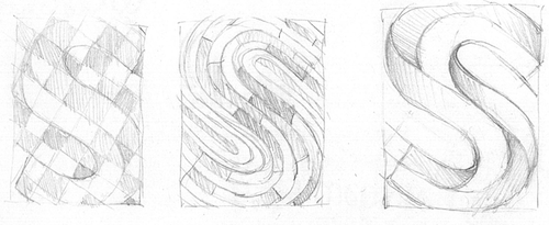Early Scribbles of the Cover Design