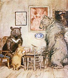 Robert Southey's 'Goldilocks and the Three Bears'