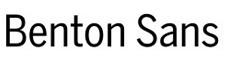 Small sample of the Benton Sans typeface
