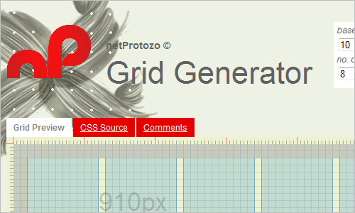 Grid Generator - build your own custom css grid