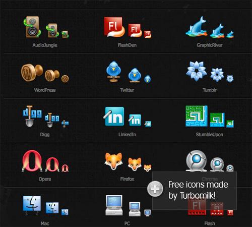 Free High Quality Icon Sets - Free Set of 25 Icons