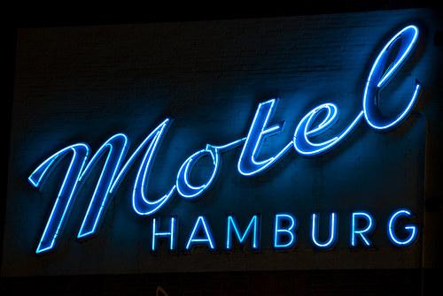 Vintage Signage - Motel Hamburg