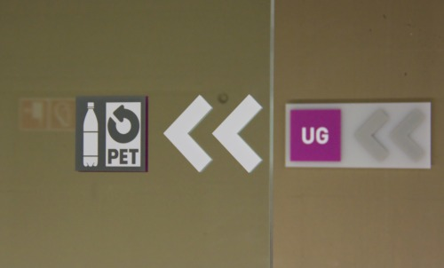 Wayfinding and Typographic Signs - three-signs-in-a-rowl