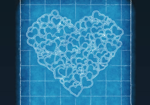 Blueprint Heart