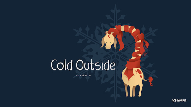 Christmas Wallpaper — Cold Outside
