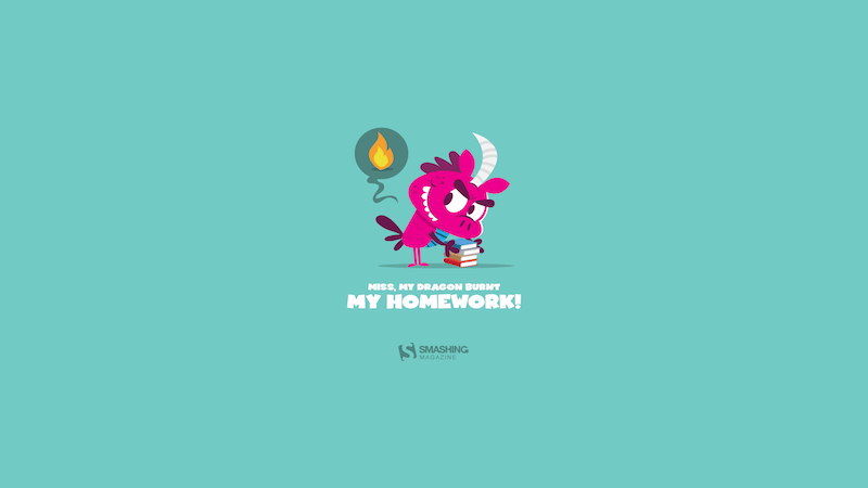 My Dragon Burnt My Homework!