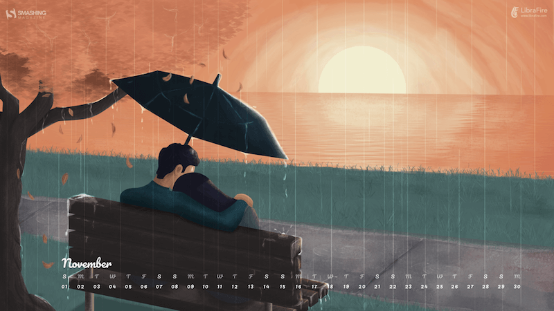 Be Kind, Be Curious (November 2020 Wallpapers Edition)