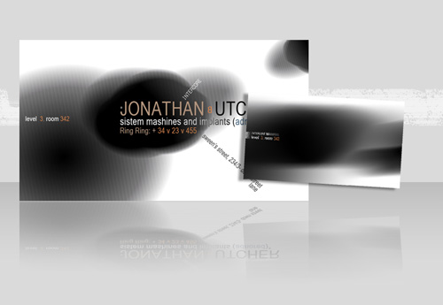 Business card design starter kit showcase tutorials templates grungy business card another variation of the grunge design is explained in this guide the image preview and psd file are free to download reheart Images