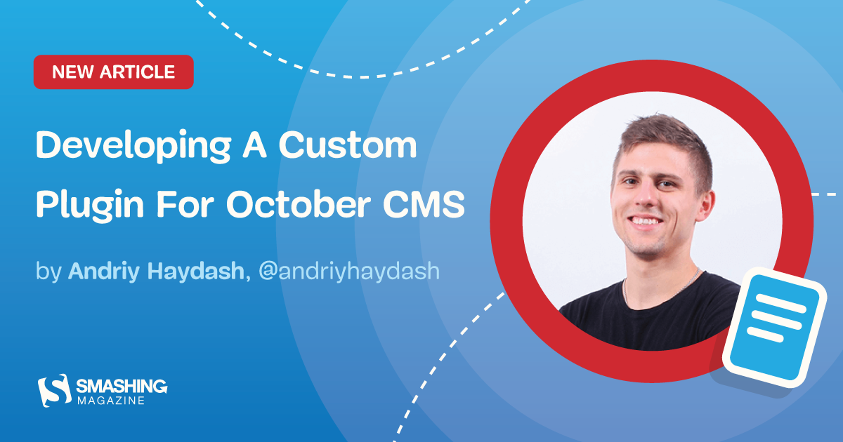 Developing A Custom Plugin For October CMS