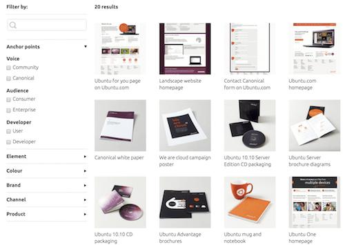 Ubuntu Design Examples