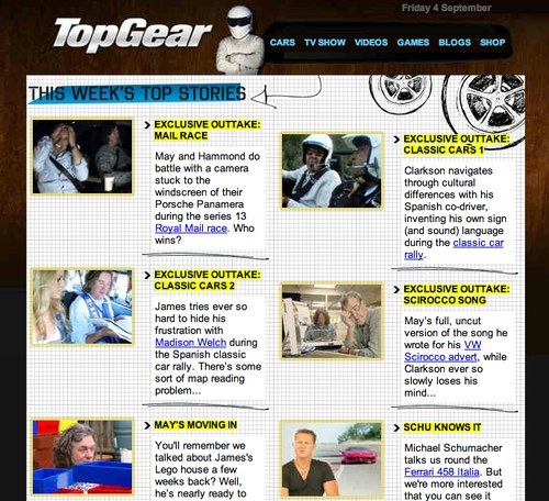 Top Gear newsletter
