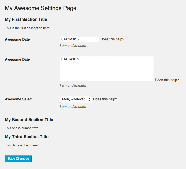 3 Approaches To Adding Configurable Fields To Your WordPress Plugin