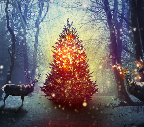 60 Beautiful Christmas Photoshop Tutorials - 2016/2017 Edition ...