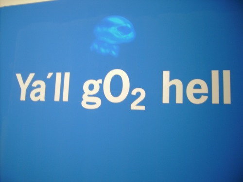 Wayfinding and Typographic Signs - o2-hell