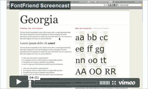 Soma FontFriend