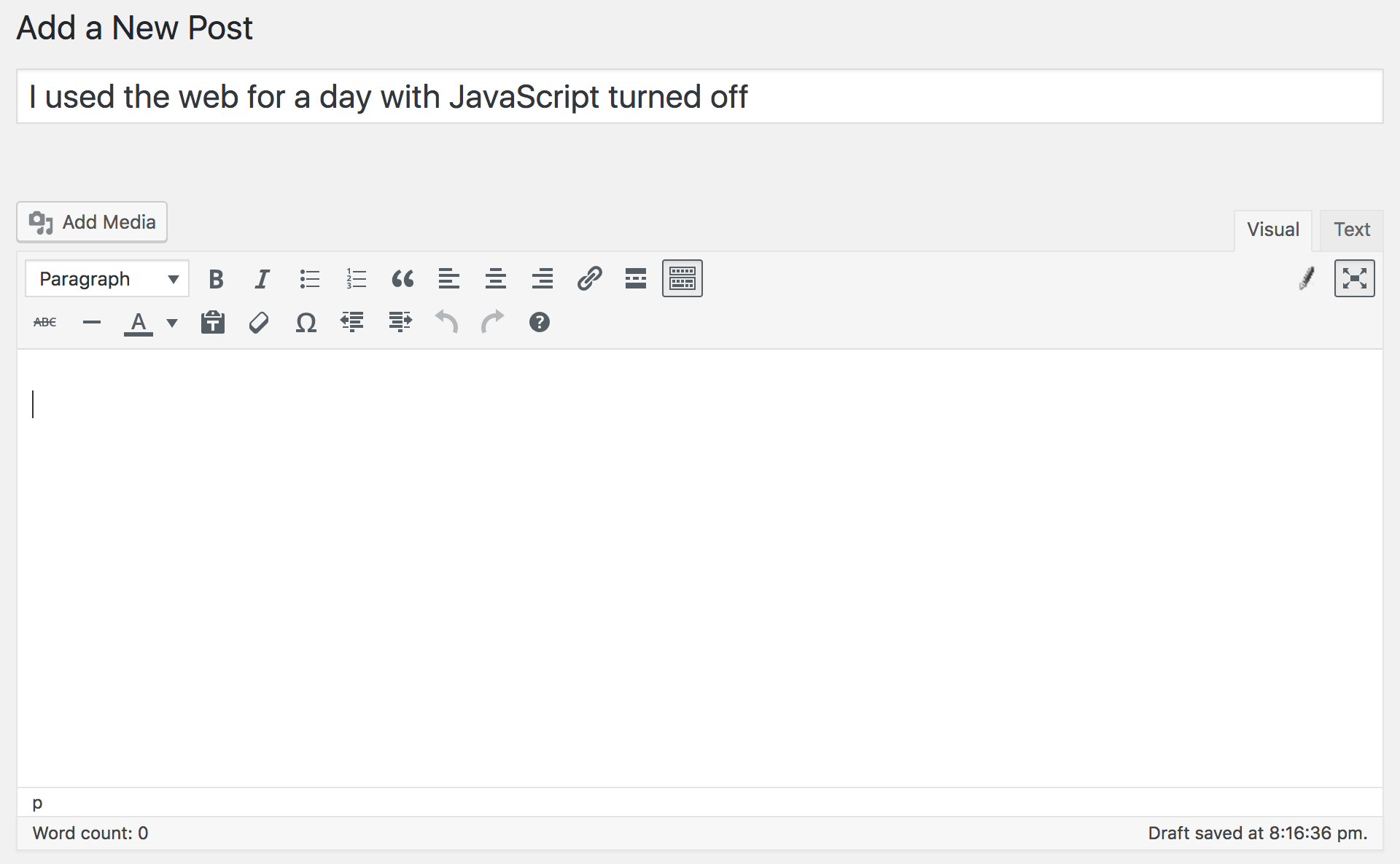 I Used The Web For A Day With JavaScript Turned Off