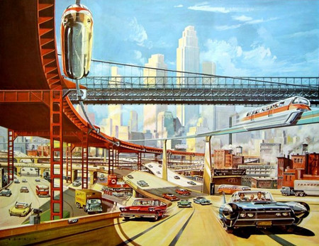 Vintage and Retro - Traffic of the Future