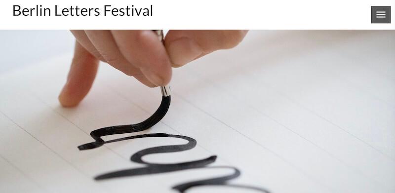 Berlin Letters Festival 2021