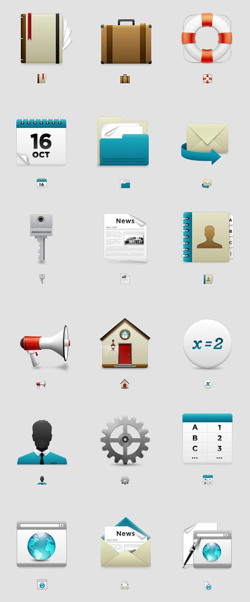 Adeptive UI icons