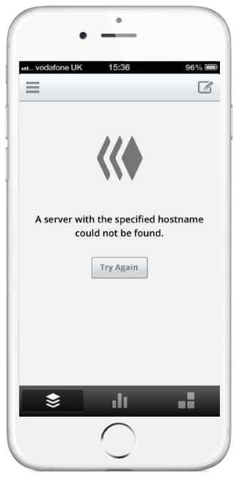 Buffer has a well-designed error state, but the copy won't mean much to users.