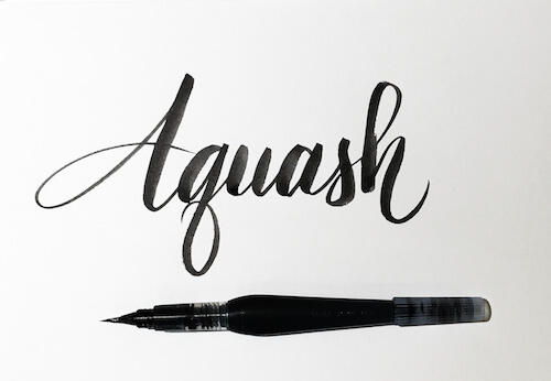 Brush Lettering: It Only Gets Better After Practice (Part 1)