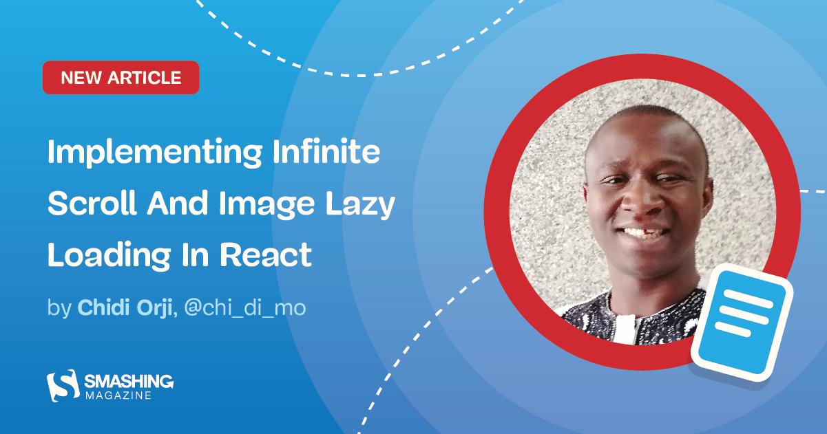 Implementing Infinite Scroll And Image Lazy Loading In React