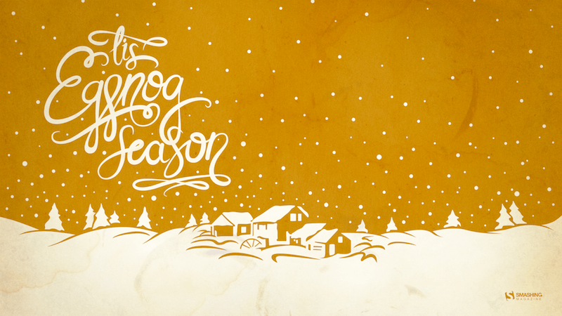 'Tis The Season (To Drink Eggnog)