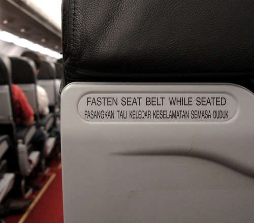 Wayfinding and Typographic Signs - cphan-fasten-airasia