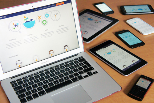 Going responsive is just the first step for our website.