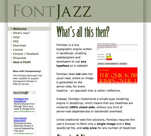 FontJazz