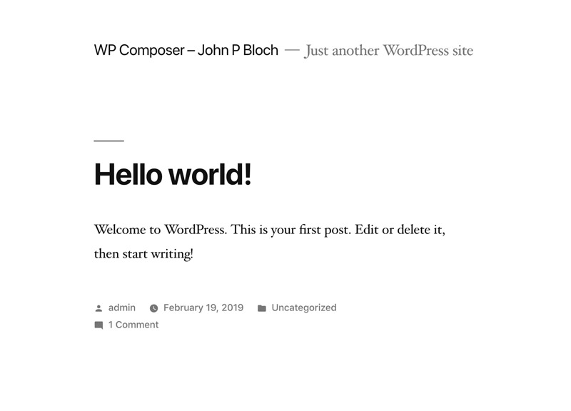 Using Composer With WordPress — Smashing Magazine