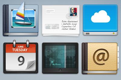 MobileMe Icons
