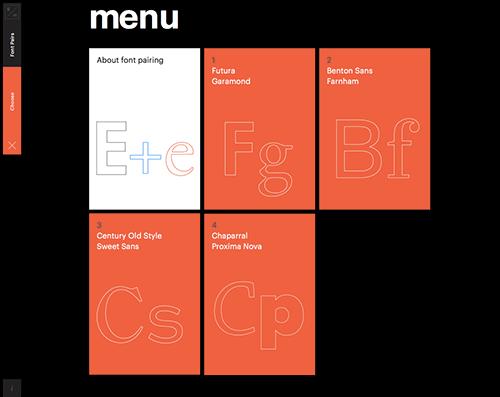 Readymag Design School website
