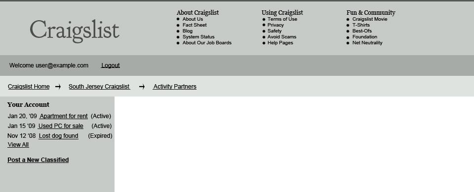 Redesigning Craigslist With Focus On Usability — Smashing Magazine
