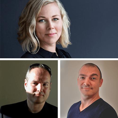 Trine Falbe, Martin Michael Frederiksen and Kim Andersen