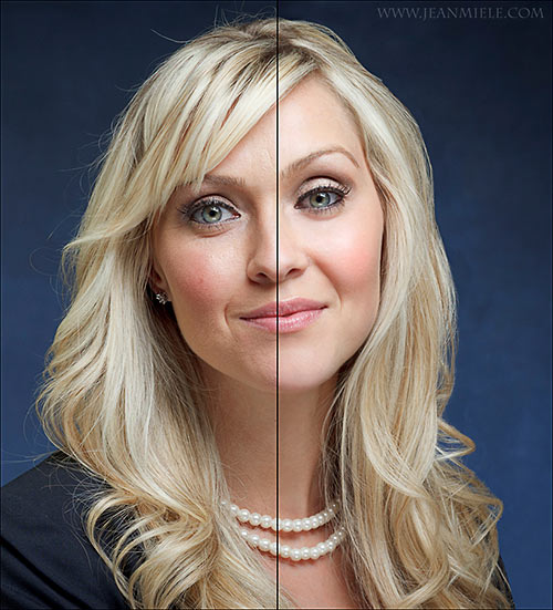 how to use photoshop to clean face blemishes