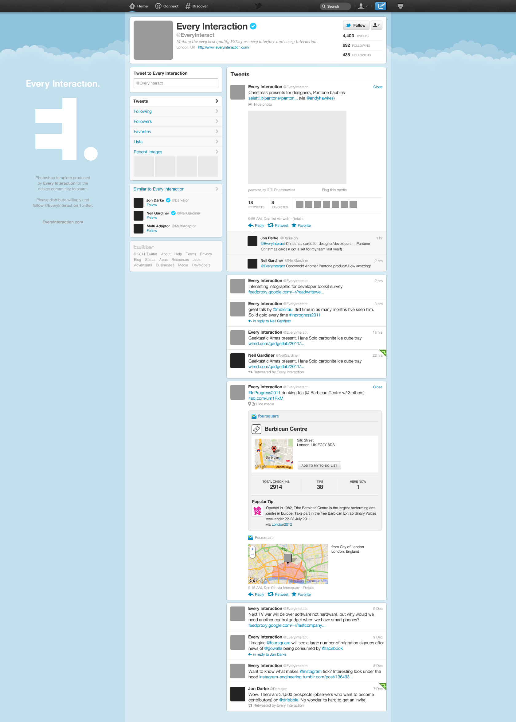 Blank Twitter Page Layout | www.pixshark.com - Images ...