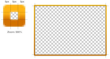 Border image diagram
