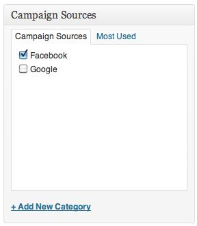 Campaign Sources