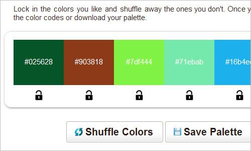 Random Color Swatch Generator | SwatchSpot