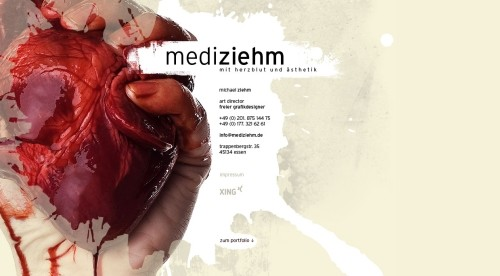 mediziehm in Showcase of Web Design in Germany