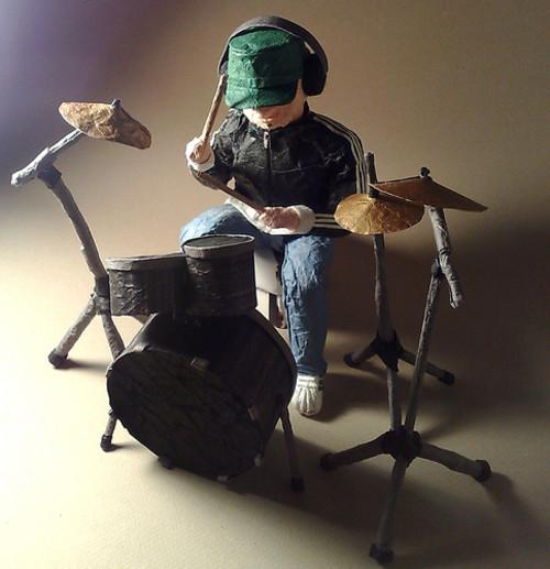 Paper Drummer