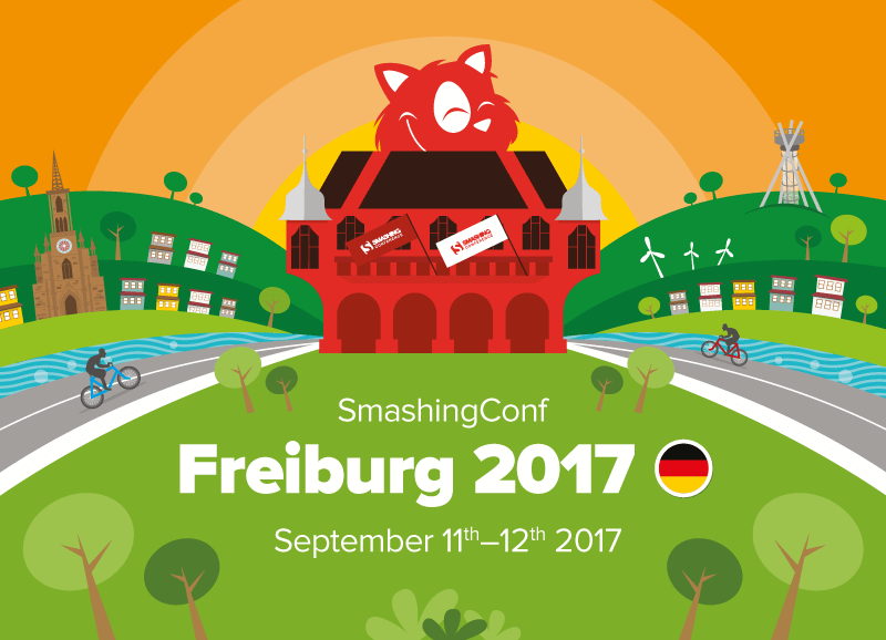 SmashingConf Freiburg is back in Freiburg on Sept. 11 and 12