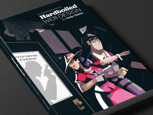 A look at the new Hardboiled Web Design, Softcover
