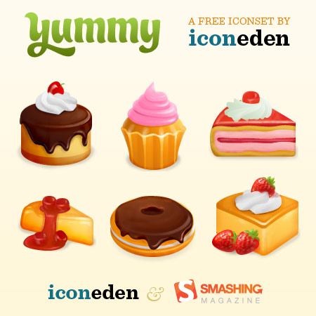 Yummy Free Icon Set