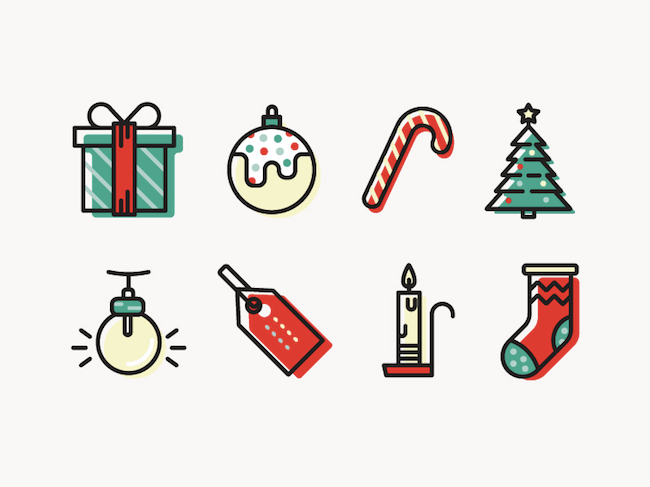Christmas Icons Png.Winter And Holiday Inspired Icon Sets Christmas Freebies