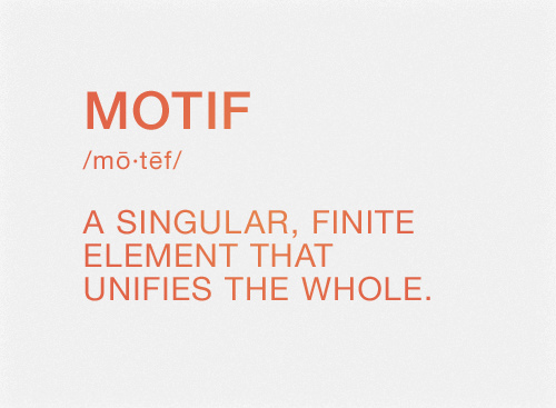 Definition of Motif